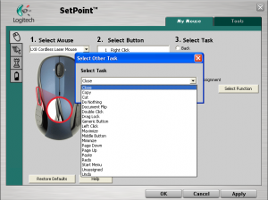 Logitech SetPoint Customize