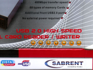 Sabrent Cardreader Package