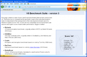 V8 Benchmark-Firefox 3.5b4