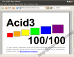 Midori Acid3 Test